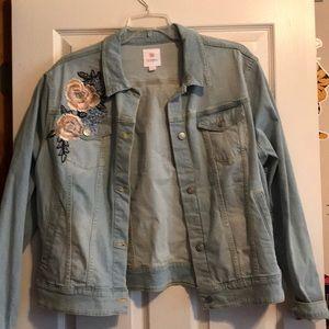 NWOT lularoe Jean jacket